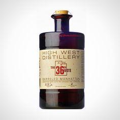 High West Distillery Barreled Manhattan. Pops Their Tops: 10 Bottled Craft Cocktails via Brit + Co.