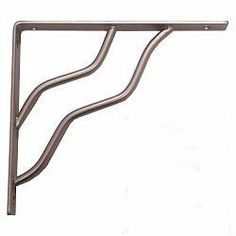 "5 Pack Stanley Hardware 25-0597 7"" x 8"" Modern Decor Shelf Bracket - Satin Nickel by Stanley. $46.06. This steel scroll shelf bracket is a perfect blend of decorative beauty and rugged functionality. Featuring a beautiful design with a weight rating of 200lbs, this shelf bracket is a perfect addition for any home or business"