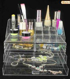 Acrylic Cosmetic Organizer with Drawers and Removable Lipstick Organizer by D'Eco Deco,http://www.amazon.com/dp/B00EQACRJC/ref=cm_sw_r_pi_dp_ntqMsb12DVCD99AV