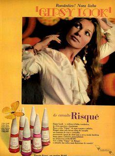 Esmalte Risqué, #Brasil  #anos60  #retro