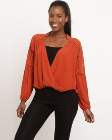 off Ladies Tops and Bottoms at Zando at great prices - available in a range of sizes. Shop for over 692 off Ladies Tops and Bottoms products. One Day Only, Shirt Blouses, Shirts, Wrap Blouse, Dobby, Brick, Lady, Sweaters, Shopping