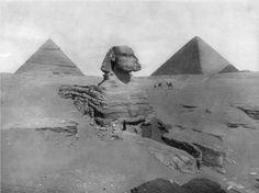 Great Sphinx of Giza - ca 1860