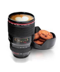 Mug en forma de lente de cámara Encuentra más regalos creativos en https://www.giferent.com/regalos-te-extrano