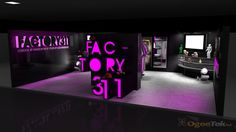311 EXHIBITION STAND // 2009 DESIGNS #1 by FACTORY311 , via Behance