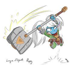 Poppy - league of legends by Johnny-Wolf.deviantart.com on @DeviantArt
