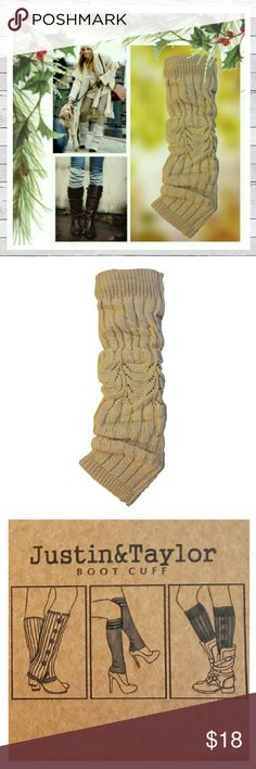 Justin & Taylor Boot Cuff Leg Warmers Justin & Taylor Boot Cuff Leg Warmers in Beige Ivory. Extra soft Acrylic to keep you warm and look adorable! One size. Sorry no trades. Justin & Taylor  Accessories Hosiery & Socks