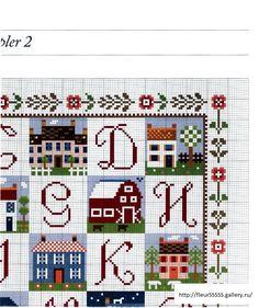 Colorful alphabet chart2