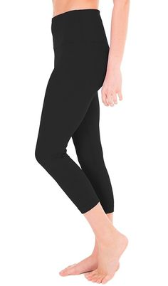 8b882056e8539 Buy High Waist Tummy Control Shapewear - Power Flex Capri - Black - and  Find More From Our Large Selection of Women's Activewear With Big Discount.
