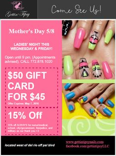 Ladies' Night is Coming!!! Ladies Night, May 7th, Nail Polish, Nails, Lady, Gifts, Finger Nails, Favors, Girl Night