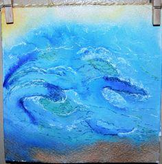 ocean waves by ArtbyAimeeMann on Etsy