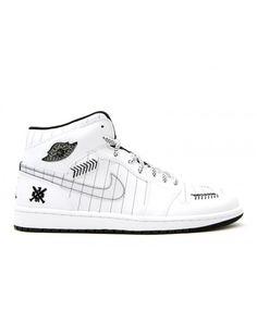 save off fd47a 80a6a Air Jordan 1 White Black Silver 325514 102