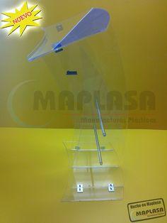 Pódium de Acrílico http://www.maplasa.com/productos/podiums/VentadePodiumsdeAcrilico.php