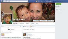 La vida de Lucas - Portada de la página de facebook