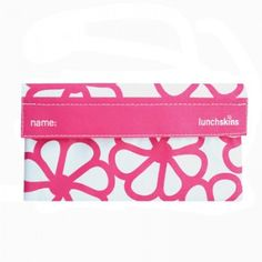 Lunchskins Snack Bag - Berry Flower