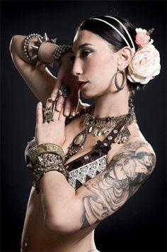 american tribal dancers | FORMAZIONE ATS (American Tribal Style Bellydance) LEVEL 1 con Grazia ...