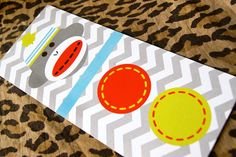 Colorful Little Sock Monkey Birthday Invitations by kyankedesigns, $41.25  One of my favs so far