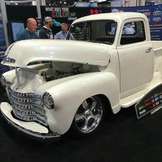 Tre5 Customs LS swapped 49 Chevy truck at SEMA