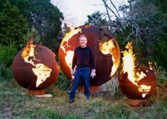Taigan's Fire Pit Art in The Tennessean!