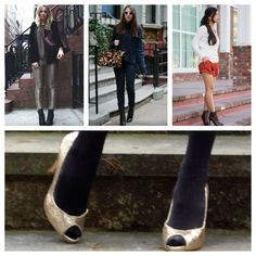 Bloggers @Runway Hippie, Le Style Child, @Stylishlyme and @Ramshackle Glam in their Coye Nokes shoes!