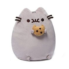 Gund Pusheen Plush with Cookie  https://www.amazon.com/dp/1223104834?m=A1WRMR2UE5PIS8&ref_=v_sp_detail_page