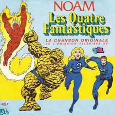 Les Quatre Fantastiques par Noam - La Chanson Originale de l'emission télévisée - https://itunes.apple.com/fr/album/les-quatre-fantastiques-generique/id915848031 #QuatreFantastiques #Noam #Chanson #Originale #EmissionTV #SIPAnimation