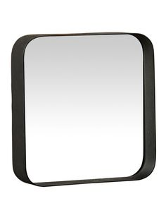 this is a versatile mirror with clean modern lines the curved corners of the design