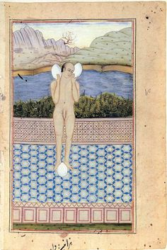 Francesco Clemente: Francesco Clemente Pinxit Gouache on antique paper… Wow Painting, Painting & Drawing, Gouache, Medieval Paintings, Watercolor Water, Iranian Art, High Art, Indian Paintings, Figurative Art