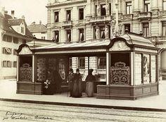 Paradeplatz Tramhaltestelle 1900 Bristol, Villa, Alter, Mansions, House Styles, Home Decor, Pictures, Belle Epoque, Switzerland