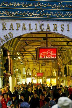 Kapalıçarşı Grand Bazaar Entrance - Istanbul, Turkey. Turkey is one of the world's best destinations.