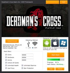 Deadmans Cross Hack Cheats Tool  Deadmans Cross Hack is Modhacks.com a new tool, that we all want to present to you. If you ever glimpse at all the other hacks on line, this amazing tool is the most effective. This specific tool was made to be functioning on Android os and iOS devices. That …