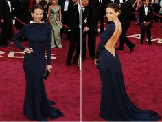 Hilary Swank Oscars 2005