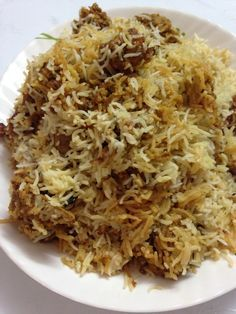 This mutton dum biryani recipe is cooked with the help of the steam itself but here long marination is not required and placed on dum with tightly sealed. Veg Recipes, Indian Food Recipes, Asian Recipes, Cooking Recipes, Healthy Recipes, Recipies, Arabic Recipes, Lamb Biryani Recipes, Best Mutton Biryani Recipe