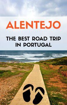 The best Portugal road trip to take this summer.    #portugal #alentejo #roadtrip #summer #beaches #travel #wanderlust @visitportugal