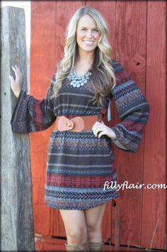 (http://www.fillyflair.com/all-around-my-aztec-world-dress-with-belt/)