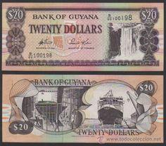 20 Guyanese dollars