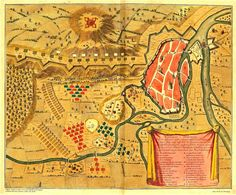 CA_22_A_86 - «Curieuse Afterkening van de Glorieuse actie, voorgevallen by Donawaart».  Haia: Anna Beeck, 1704. Cota: BNP C.A. 22 A. // Mapa 86