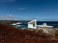 Saunders Architecture — Squish Studio — Europaconcorsi.....this is just over the hill from my mother's childhood home where we spend time each summer....Tilting, NL,Canada....stunning.  Also feels like you have stepped back in time and are in a little piece of Ireland!