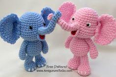 Elphant Free Crochet Pattern