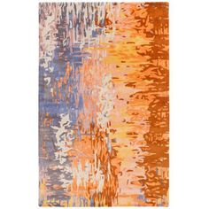 Hand-tufted Lucas Abstract New Zealand Wool Area Rug (3'3 x 5'3) - Overstock Shopping - Great Deals on 3x5 - 4x6 Rugs