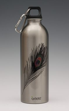 1 Liter Peacock Bottle