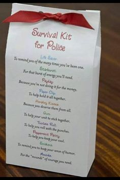 Police survival kit