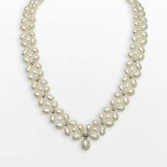 Sterling Silver Freshwater Cultured Pearl Necklace $375.00