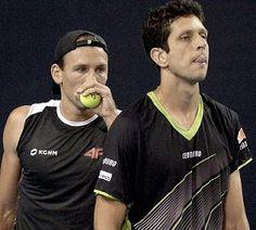 Blog Esportivo do Suíço:  Marcelo Melo e polonês vencem e seguem na defesa de título em Viena