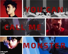 #exo #exo edit #exo monster #kpop #k pop #k-pop #korean boys #exo wallpaper