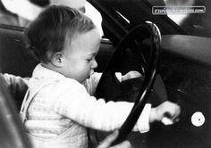 Der jüngste am Genfer Automobilsalon 1983  © Zwischengas Archiv #1983 #Genf #Automobilsalon