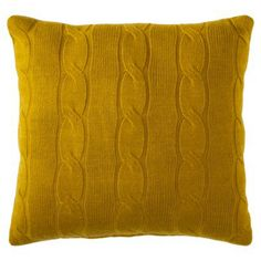 LR, qty: 1 $24.99 (available in store, but may as well order online since one of the others has to be ordered) Threshold™ Cable Knit Toss Pillow - 20x20""