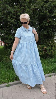 Купить Платье летнее хлопок 100% в интернет магазине на Ярмарке Мастеров