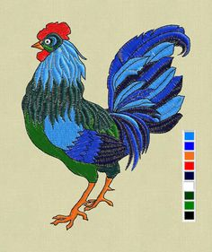Cock by ViktoriyaFelt Виктория on Etsy