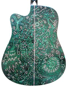Carved Acoustic Guitar http://artenaviola.onlinewebshop.net/