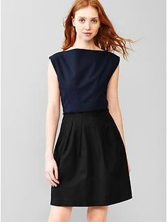fit and flare dress - $70